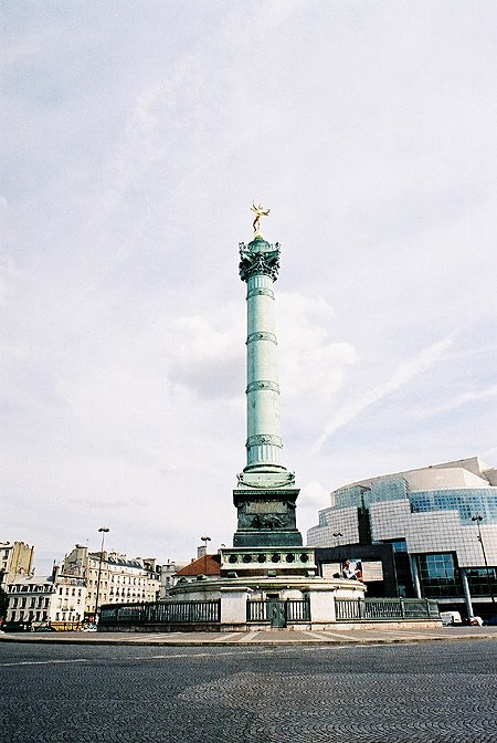 1840 &#8211; Place de la Bastille, Paris