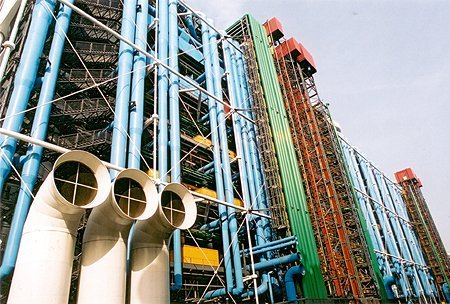1977 – Centre Pompidou, Paris