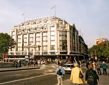 1923 &#8211; Samaritaine Department Store, Paris
