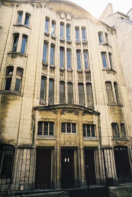 1913 &#8211; Synagogue, Paris