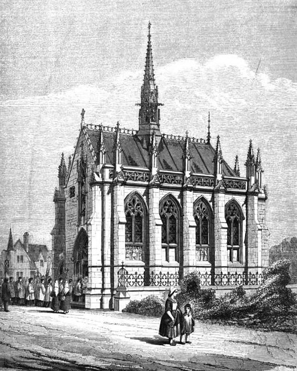 1862 &#8211; Notre Dame Chapel, Boulogne
