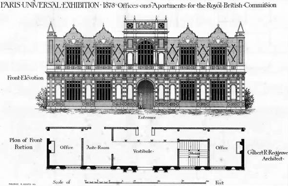 1878 – Royal British Commission, Exposition Universelle, Paris