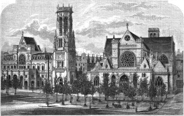 1863 – New Mairie, Paris