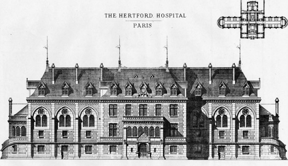 1879 &#8211; The Hertford British Hospital, Paris, France