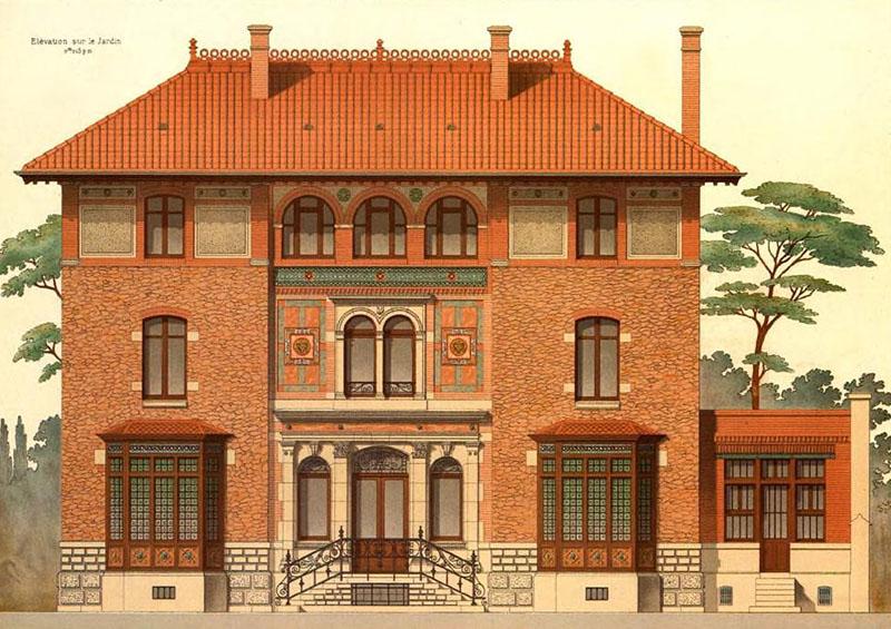 1884 – Villa Weber, rue Erlanger, Paris