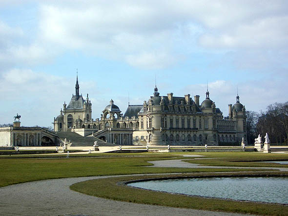 1881 &#8211; Chteau de Chantilly, Oise, France