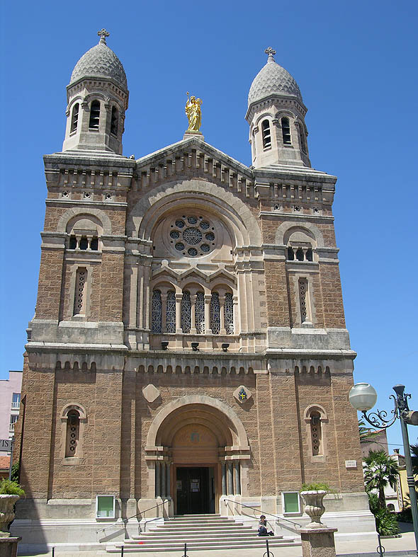 Notre Dame de la Victoire, Saint-Raphaël, Var, France
