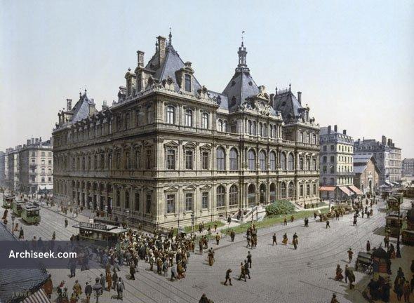 1860 – Palais de la Bourse, Lyon, France