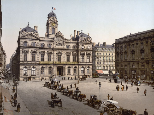 1674 &#8211; Hotel de Ville, Lyon, France