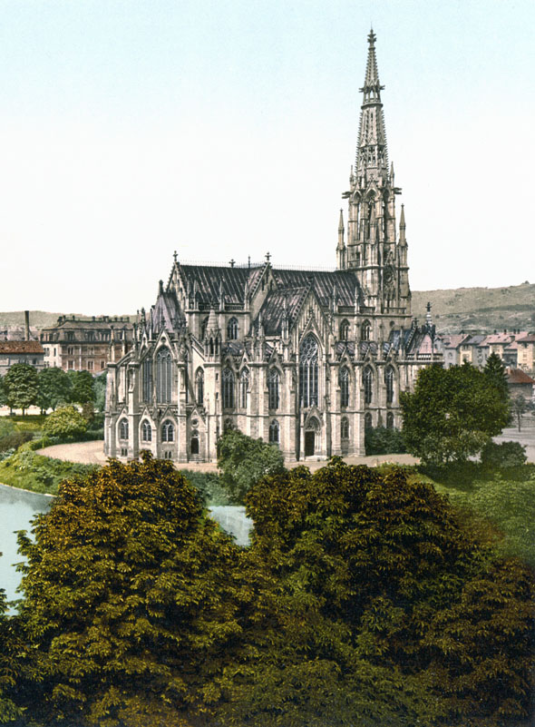1876 &#8211; Johanneskirche, Stuttgart, Germany