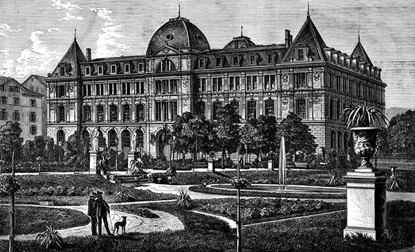 1873 – The Building Trade Schools, Stuttgart, Germany
