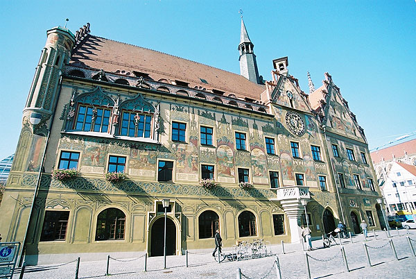 1370 &#8211;  Townhall, Ulm, Baden Wurttemburg