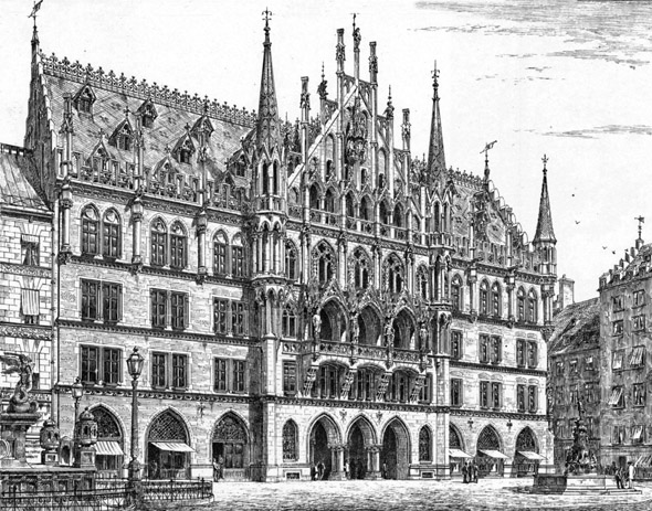 1909 &#8211; Neues Rathaus, Munich, Germany