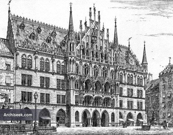1909 – Neues Rathaus, Munich, Germany