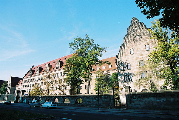 1916 &#8211; Palace of Justice, Nuremberg, Bavaria
