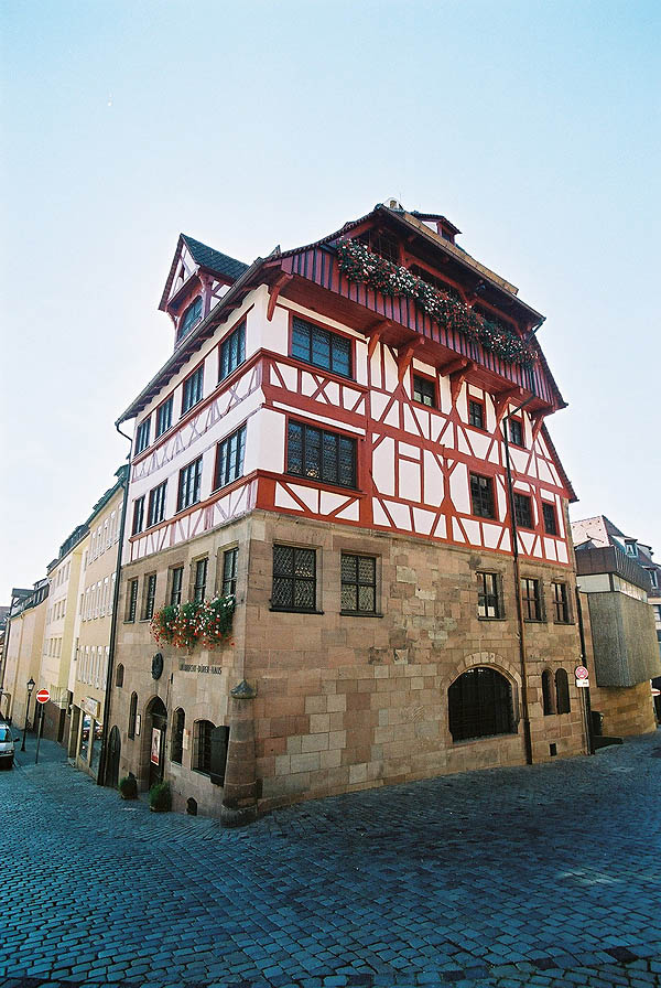 1420 – Albrecht Dürer House, Nuremberg, Bavaria