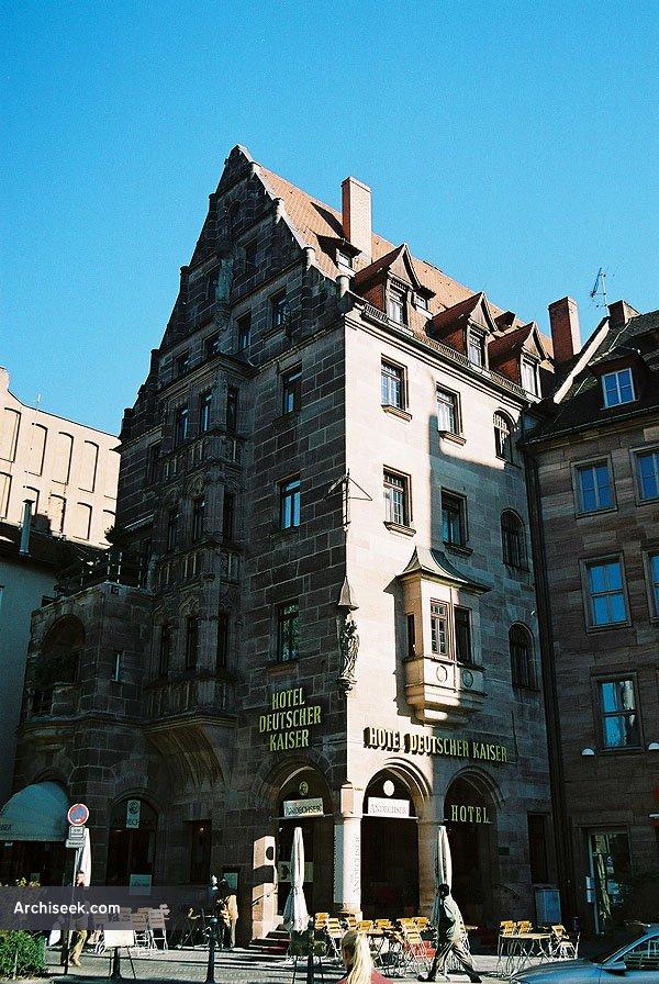 1888 – Deuscher Kaiser Hotel, Nuremberg