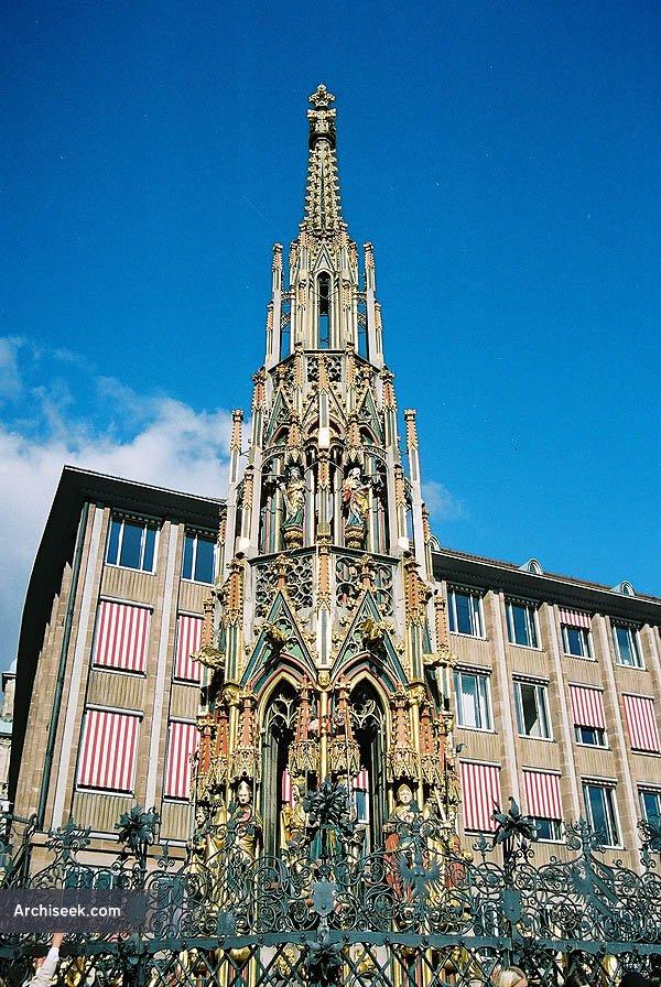 1385 – Schöner Brunnen, Nuremberg, Bavaria