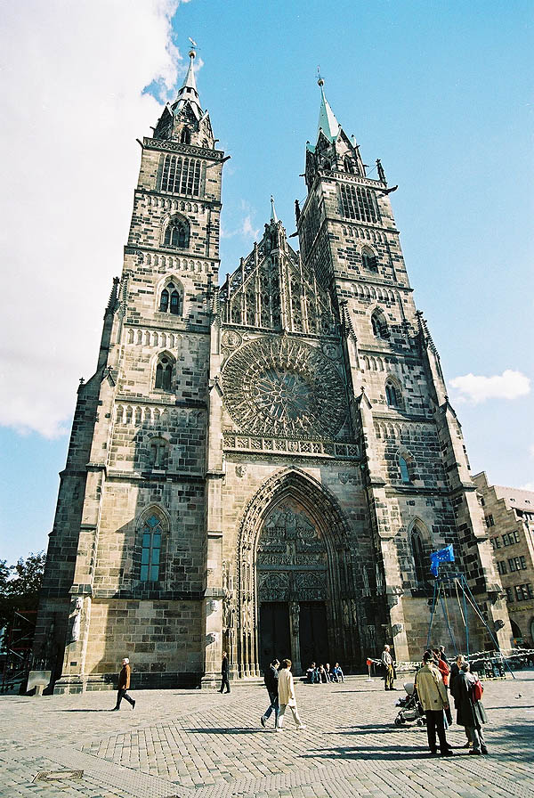 1477 &#8211; St Lorenz Kirche, Nuremberg, Bavaria