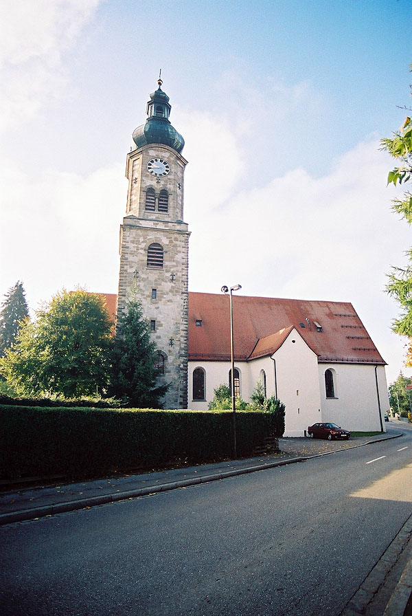 1663 &#8211; St. Magnus Kirche, Lenzfried, Kempten, Bavaria