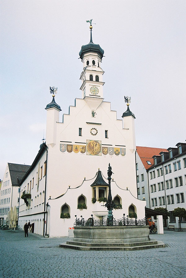 1474 &#8211; Rathaus, Kempten, Bavaria