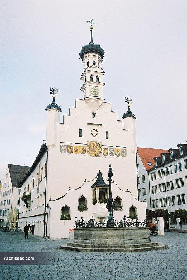 1474 – Rathaus, Kempten, Bavaria