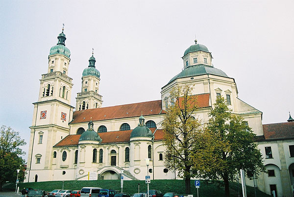 1652 &#8211; St Lorenz Basilika, Kempten, Bavaria