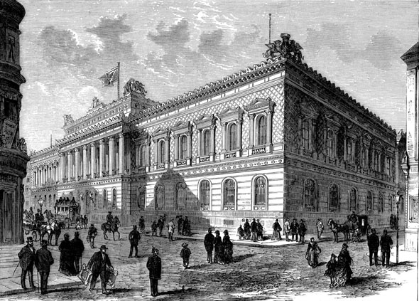1878 – Reichsbank, Berlin, Germany