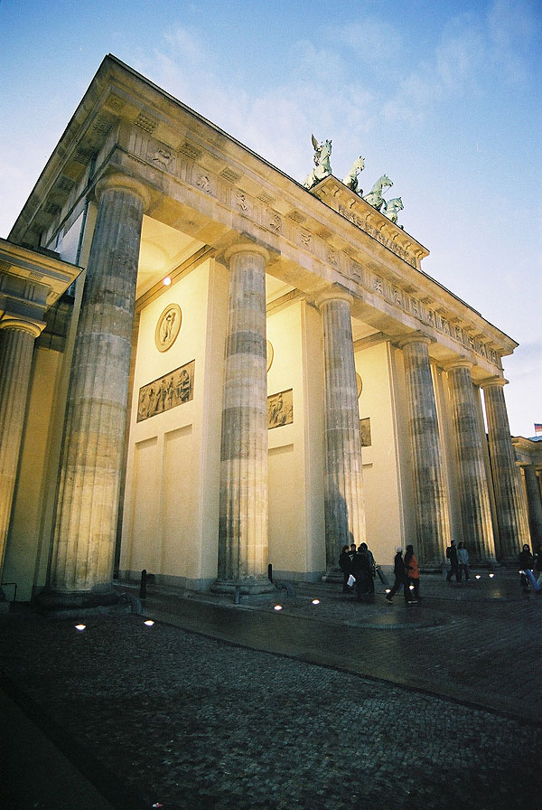 1791 – Brandenburg Gate, Berlin
