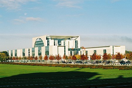 2001 &#8211; The Chancellery, Berlin