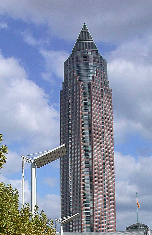 1990 &#8211; Messeturm, Frankfurt