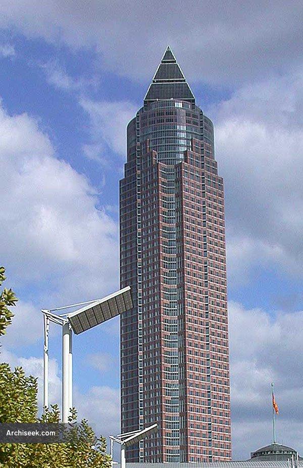 1990 – Messeturm, Frankfurt
