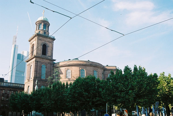 1833 &#8211; Paulskirche, Frankfurt