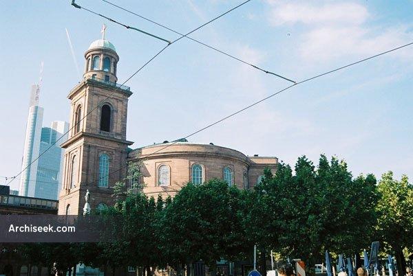 1833 – Paulskirche, Frankfurt