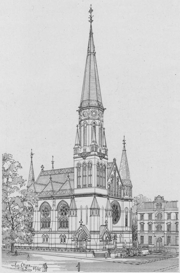 1894 &#8211; Lutherkirche, Apolda, Germany