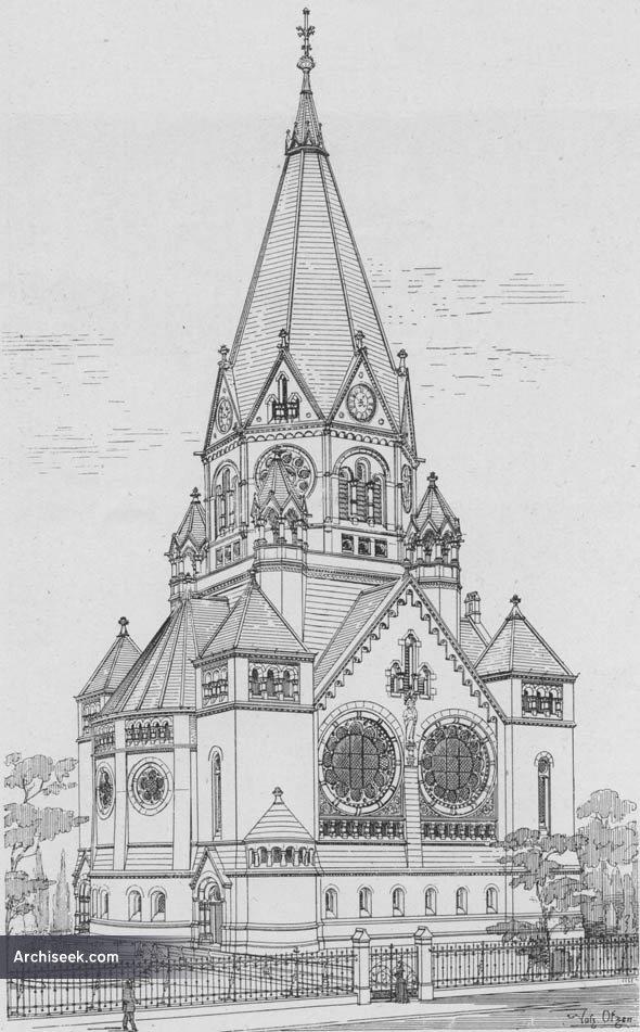 1895 – Friedhofskirche, Elberfeld, Germany