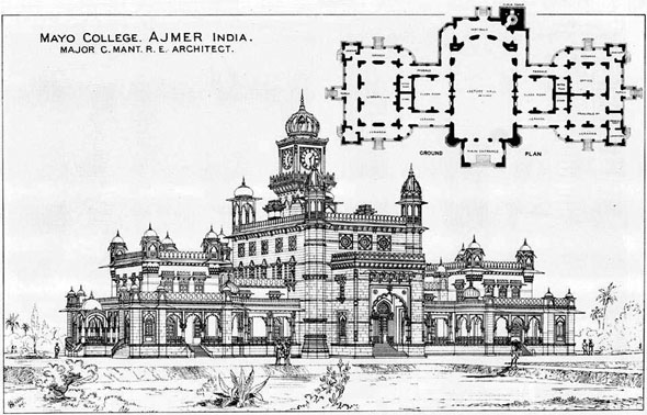 1879 – Mayo College, Ajmer, India