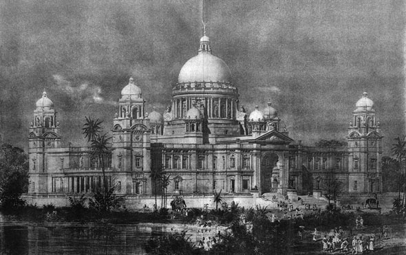 1905 &#8211; The Queen Victoria Memorial, Kolkata, India