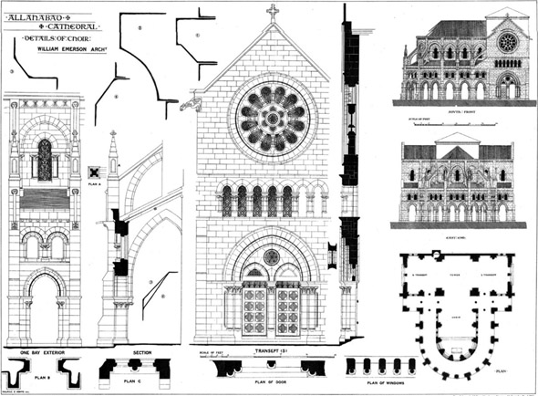 1887 &#8211; All Saints Cathedral, Allahabad, Uttar Pradesh, India