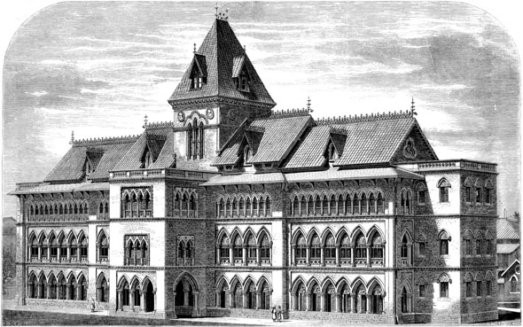 1875 – Gokuldas Tejpal Native General Hospital, Mumbai, India