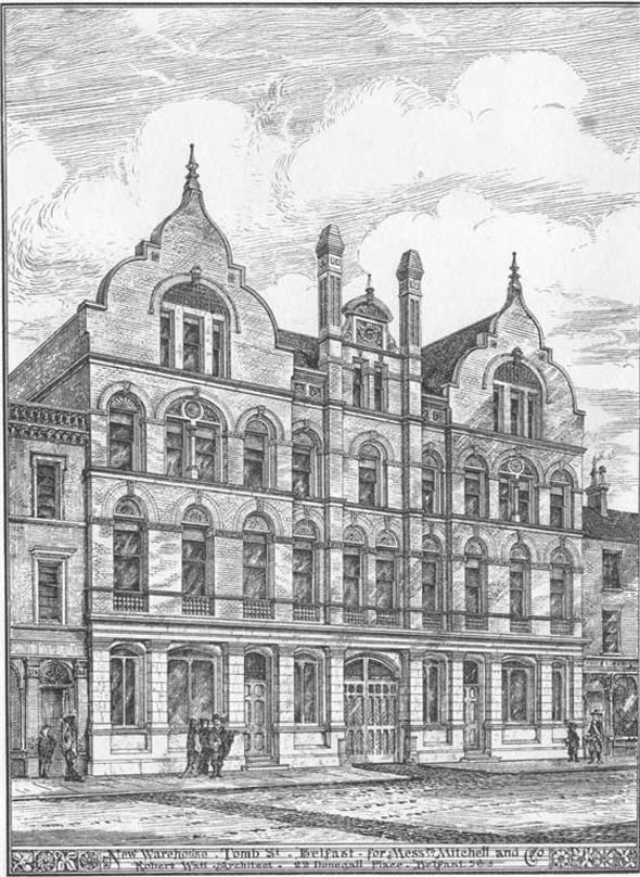 1879 – Warehouse, Tomb Street, Belfast