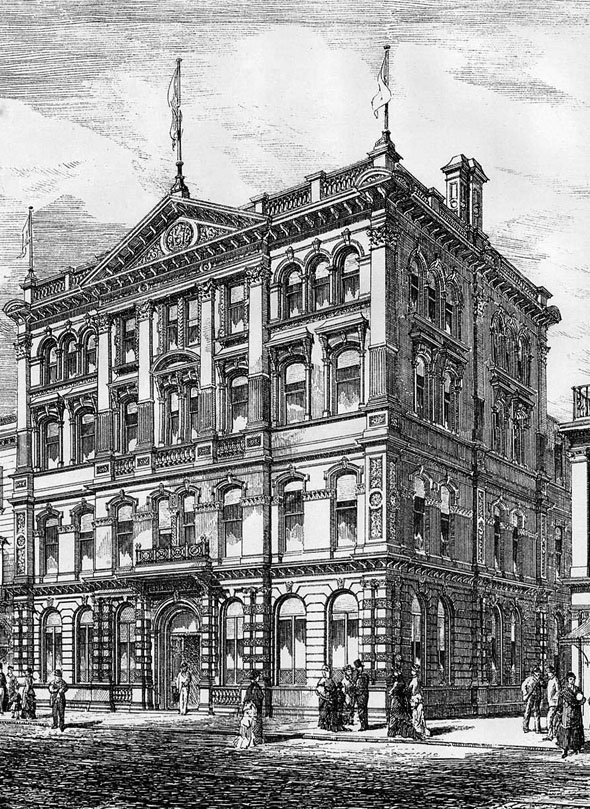 1879 &#8211; Warehouse, Donegall Place, Belfast