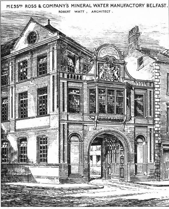 1883 – Mineral Water Manufactory, William Street South, Belfast