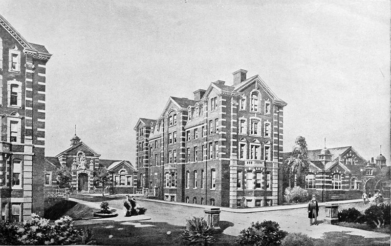 1901 &#8211; Royal Victoria Infirmary, Belfast