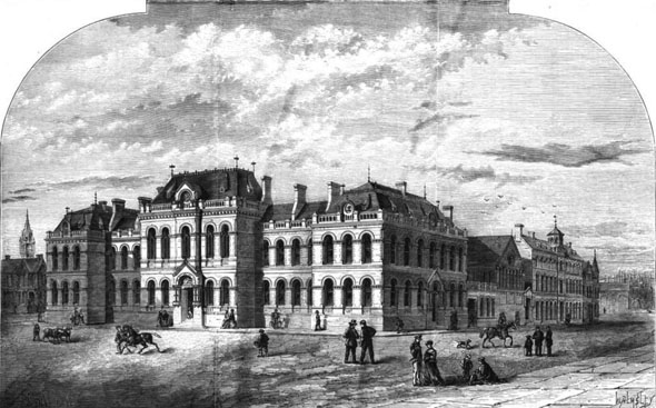 1870 &#8211; Belfast Town Hall, Co. Antrim