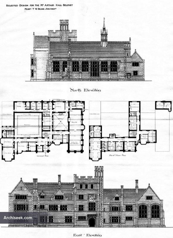 1887 – McArthur Hall, Belfast, Co. Antrim