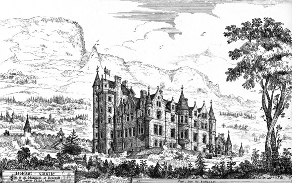1870 &#8211; Belfast Castle, Co. Antrim