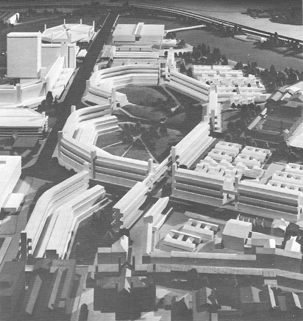 1968 – Unbuilt Plan for Markets Estate, Belfast