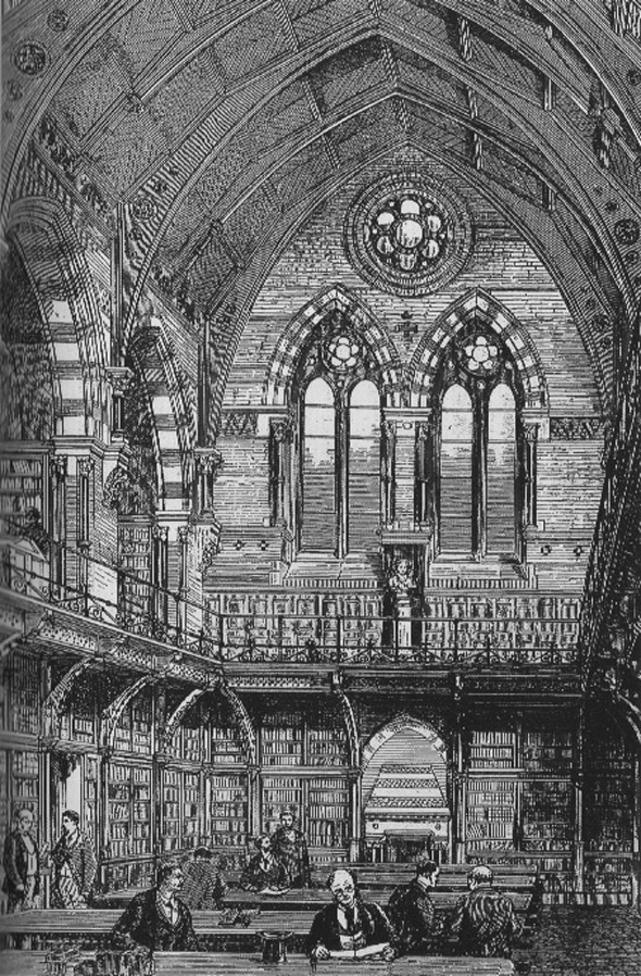 1868 – Old Library, Queen's University Belfast