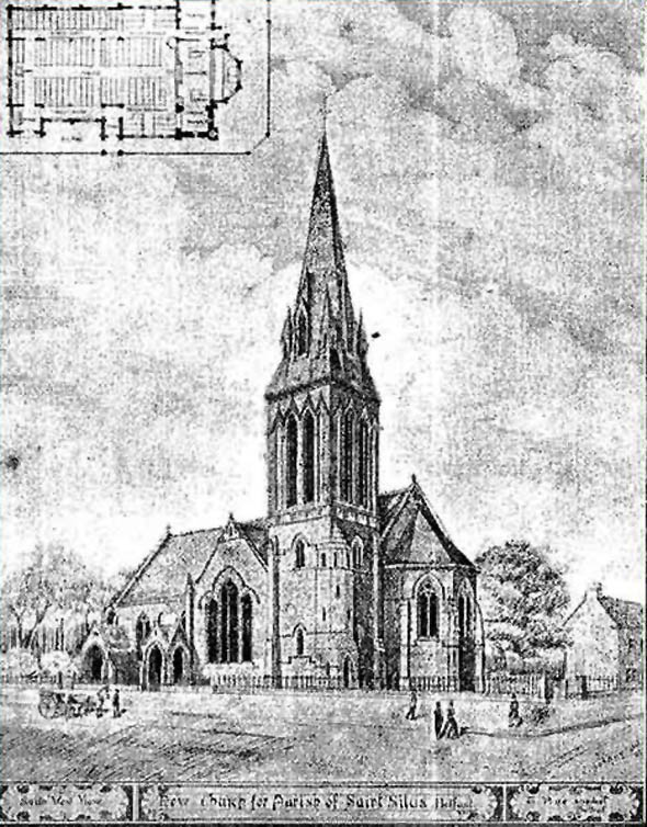 1901 – St. Silas Church, Cliftonville Road, Belfast